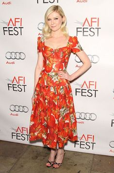 Kirsten Dunst's style hits