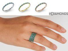 21DIAMONDS è l'unico sito di gioielli che vi permette di scegliere le pietre e il metallo del vostro gioiello per renderlo speciale e unico secondo i vostri gusti!