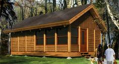 Woody Bufton Log Cabin - Kit Only