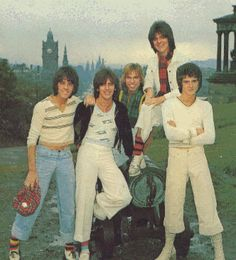 Bay City Rollers..Can you tell, I'm a child of the '70s? . .I had a friend in middle school that absolutely loved them, wore tartan all the time