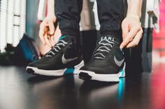 Click on this photo to see the NIke HyperAdapt 1.0 in action on our blog!