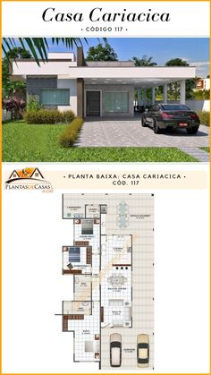 Small House Plans House Floor Plans Home Design Floor Plans Bedroom Floor Plans Modern House Plans Dream House Plans Floor To Ceiling Bookshelves Modern House Design Villa Design Bungalow Floor Plans, Home Design Floor Plans, House Floor Plans, Contemporary House Plans, Modern House Plans, Modern House Design, Bungalow Haus Design, Modern Bungalow House, Narrow Lot House Plans