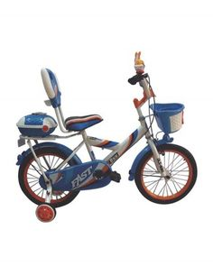 Check out our New Product  HLX NMC 14inch Monster Bicycle Blue and White COD •Wheels mounted parallel to the rear wheel•Durable Rubber Tyres•PU Top cushioned•Broad Pedal With Reflectors•Soft Rubber Grips.  Rs.7,619
