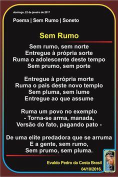 reeditadas: Poema   Sem Rumo   Soneto*
