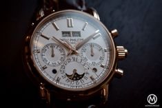 Patek Philippe 5204R Split-Seconds Chronograph Perpetual Calendar - Baselworld 2016 - 5