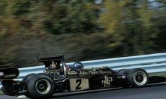 f1 El Lotus 72E de Ronnie Peterson para el Gran Premio de los Estados Unidos en 1973