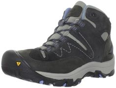 "Keen Women's Susanville Mid Hiking Boot Keen. $109.95. Shaft measures approximately 4.5"" from arch. Rubber sole. Leather and textile. Heel measures approximately 1.25"""