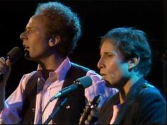 Simon and Garfunkel - live - Sound of Silence.  Never gets old...classic!