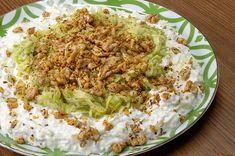 Kabak Şayan Tarifi, Nasıl Yapılır? (Videolu) - Yemek.com Roasted Eggplant Dip, Avocado, Appetizer Dips, Food And Drink, Salad, Recipes, Sauces, Foods