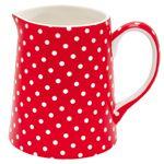 Kannu, Spot Red, 0,5l | Sisustus Romantico - sisustaminen - lahjatavarat - verkkokauppa