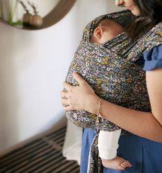 Solly Baby Wrap Baby Carrier by Rifle Paper Co.