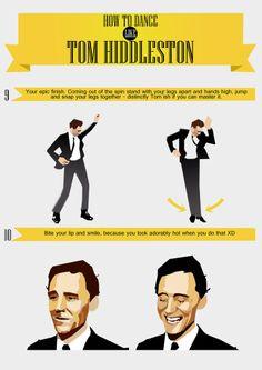 how to dance like him yo