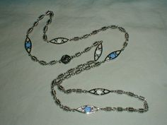 st.john necklace silver plated filigree by qualityvintagejewels, $199.00