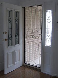 Slide Out Screen Doors