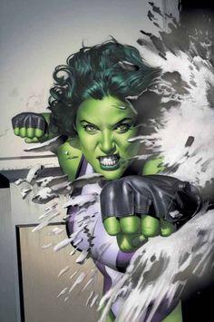 She-Hulk by Greg Horn