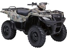 USED 2011 SUZUKI KINGQUAD 500AXI CAMO UTILITY REVIEW