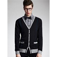 Classic Striped Cardigan Sweater  $46.99
