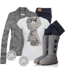 Comfy look.. perfect for winter!