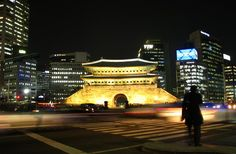 Namdaemun (Great South Gate) Seoul, S. Korea