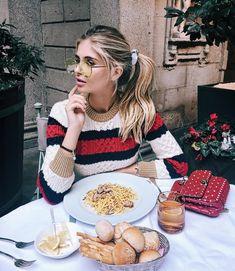 27.8 тыс. отметок «Нравится», 357 комментариев — XENIA VAN DER WOODSEN (@xeniaoverdose) в Instagram: «Channeling my inner Italian by wearing @gucci and eating authentic Italian pasta... can't complain…»