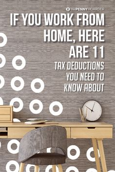 Working from home is great, but it often comes with surprise expenses. Here are 11 tax deductions you can't afford to overlook.