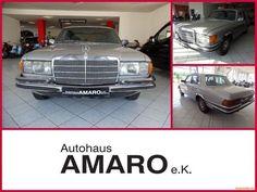 Mercedes-Benz 280 SE H- Kennzeichen als Limousine in Marienberg OT Lauta