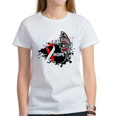 Aplastic Anemia Butterfly shirts, apparel and gifts #aplasticanemia #aplasticanemiaawareness #aplasticanemiashirts