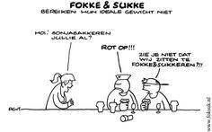 Dieet cartoon