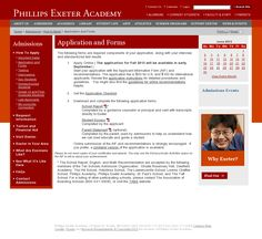 Applying to Phillips Exeter Academy Phillips Exeter Academy, Faculty And Staff, Student Life, How To Apply, Sorority Sugar, Student Living, College Life