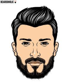 Naturally Full Fledged Beard In Short Beard Styles