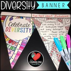 HALL ART - Cultural Diversity Activity Banner by The Counseling Teacher Brandy Diversity Activities, Multicultural Activities, Activities For Adults, Culture Activities, Work Activities, Diabetes Memes, Equality And Diversity, Cultural Diversity, Family Engagement