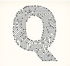 Gears on Circuit Board vector art illustration | Leslie card | Pinterest