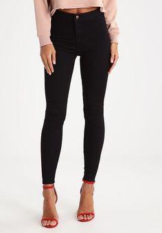 Bestill  New Look DISCO - Jeans Skinny Fit - black for kr 299,00 (22.08.17) med gratis frakt på Zalando.no