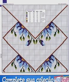 ponto cruz e  outros  bordados