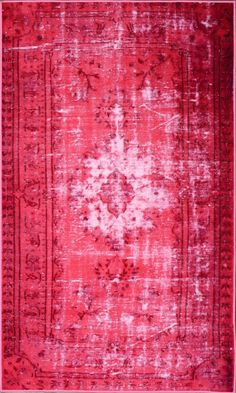 nuLOOM Hawkesbury Overdyed Style Harper Pink Floral Area Rug | AllModern