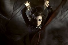 work by Anna Wong. Aveda Institute, Cosmetology, Special Events, Gothic, Anna, Bohemian, Photoshoot, Makeup, Creative