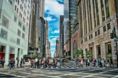 50 Cool Things To Do In New York City -  Shopping - 1st trip to NYC, one day; so pictures of the department stores and Christmas displays!  Maybe a hat or a t-shirt, souvenirs for my family....