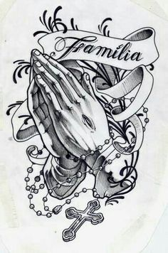 I love tattoos, this one catches my eye for its religious influence and dedication to family Hand Tattoos, New Tattoos, Body Art Tattoos, Cool Tattoos, Tatoos, Forearm Sleeve Tattoos, Chicano Tattoos, Chicano Art, Maori Tattoos