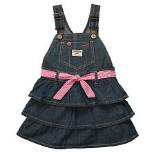 Osh Kosh Bgosh Baby Dress, Baby Girls Denim Overall Dress - Kids - Macys Newborn Girl Outfits, Little Girl Dresses, Kids Outfits, Baby Dresses, Denim Jumper, Denim Overalls, Jeans, Toddler Girl Style, Toddler Girls