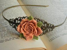 Vintage Inspired Floral Headband