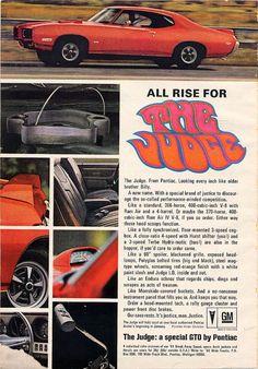 Pontiac GTO Judge.