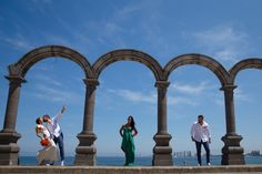 Downtown Malacon Puerto Vallarta is perfect for wedding pictures