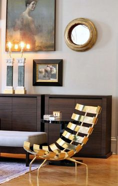 Clean, Artful, Contemporary....love the chair!  Designer - Michael Boyd Smith, photographer - Vicki Gladie Bolick