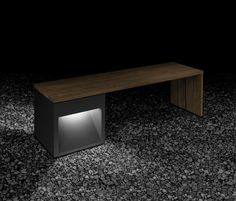 Taburetes | Asientos | Lap Bench | B.LUX | David Abad. Check it out on Architonic