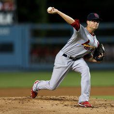 St Louis Cardinals v Los Angeles Dodgers 9/14/12. Joe Kelly