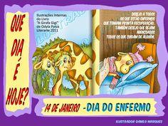 """DATAS COMEMORATIVAS - 14 DE JANEIRO  SÉRIE """"QUE DIA É HOJE?"""" 49 - 14 de Janeiro - Dia do Enfermo  Desejo que todo enfermo tenha pronta recuperação, e que seus cuidadores: Médicos, enfermeiros, Cuidadores, Amigos, Parentes e etc sejam ricamente abençoados!"""