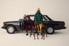 Aimé Leon Dore Debuts Woolrich Collab in Final Drop Car Editorial, Editorial Photography, Editorial Fashion, Photography Ideas, Streetwear, Aime Leon Dore, Campaign Fashion, Studio Shoot, Fashion Gallery