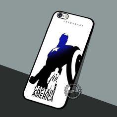 Captain America Legendary - iPhone 7 6 5 SE Cases & Covers #movie #superheroes