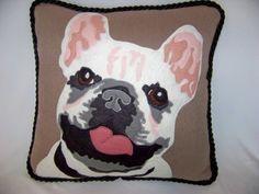 Pillow by Bonnie Fowler.