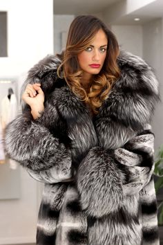 Chinchilla and Silver Fox from Elsa Furs 3